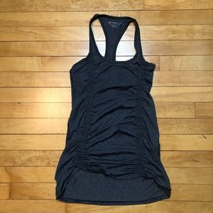 Beyond Yoga Ruched Front Racerback Workout Tank